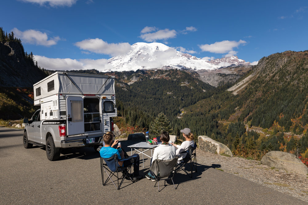 Four Wheel Camper for Rent