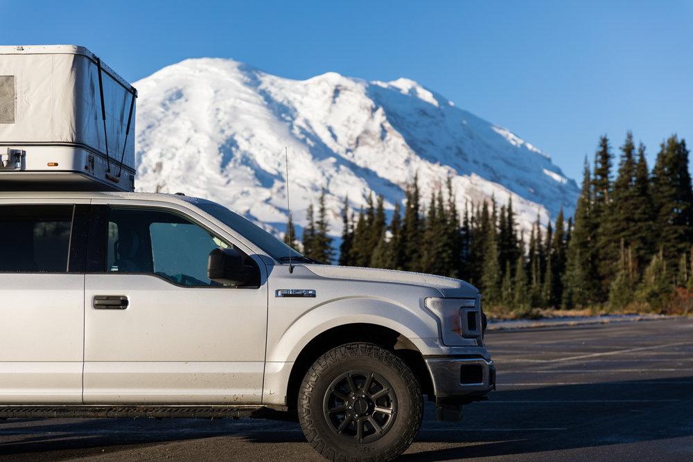 4x4 truck camper rentals portland, Or
