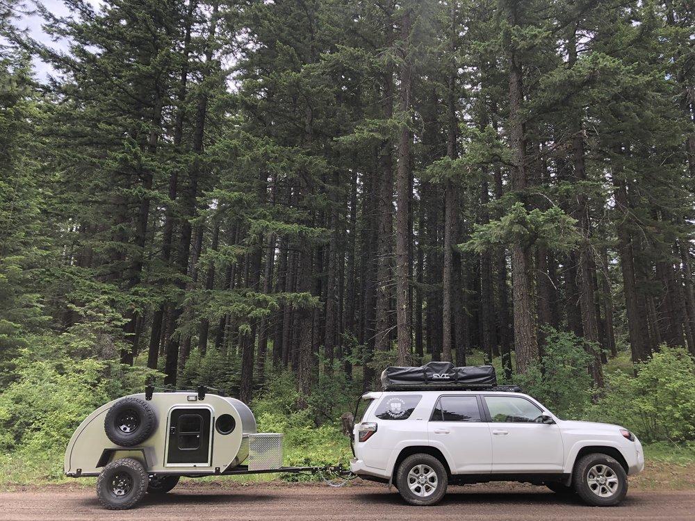 offroad teardrop trailer rental