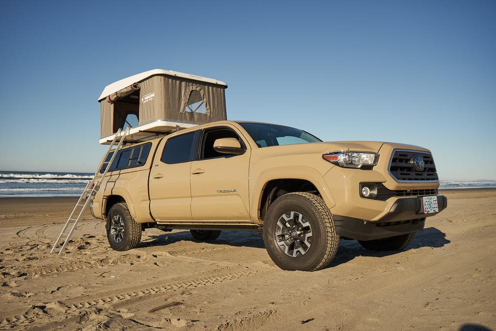 4x4 Toyota Tacoma Overland Rental