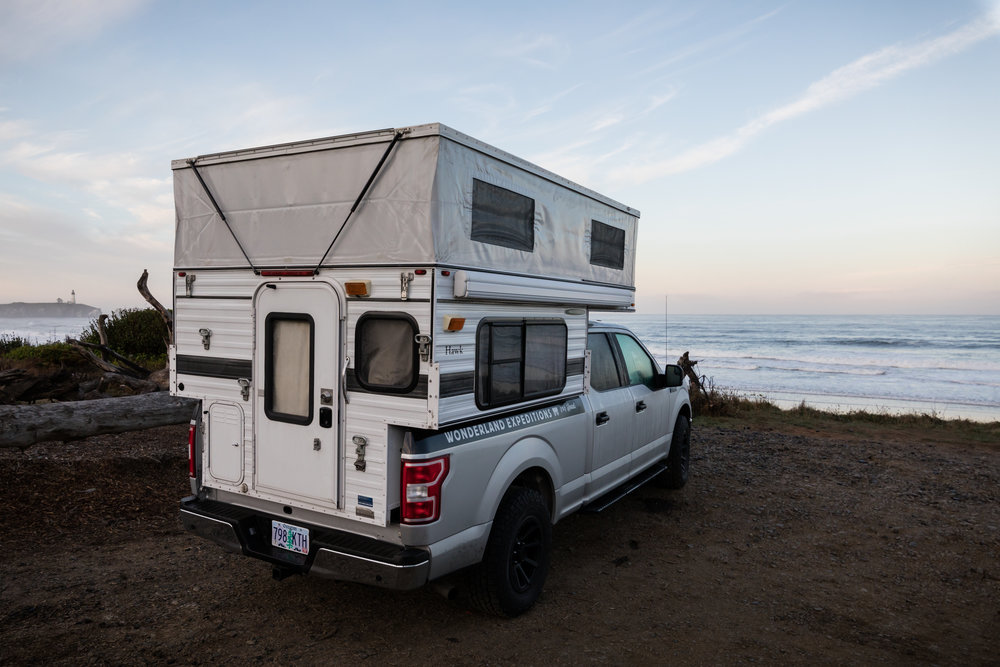 4x4 Truck Camper Rentals Four Wheel Camper