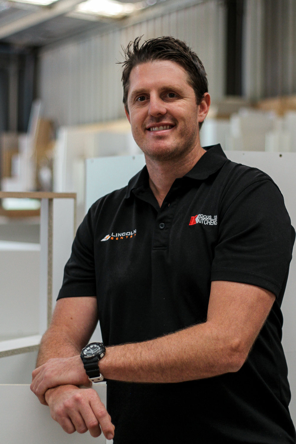 Shane Bidgood - Director - Owner & Co-Director Shane started his apprenticeship at Focus on Kitchens in 1999. Shane has a passion for quality and detail and will oversee the manufacture & installation of your new joinery.