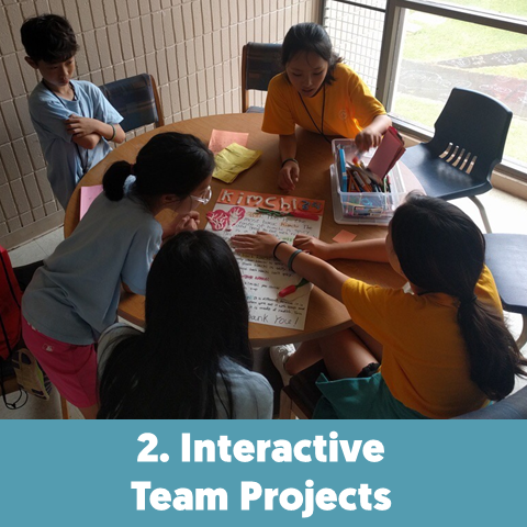 Team projects are key for learning teamwork and collaboration.