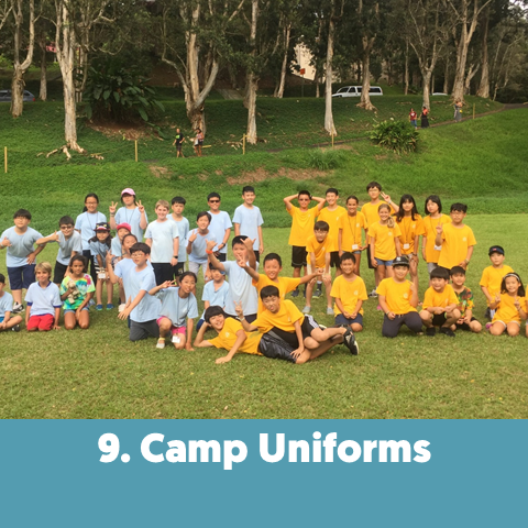 Uniforms establish that everyone is equal and part of one unique group.