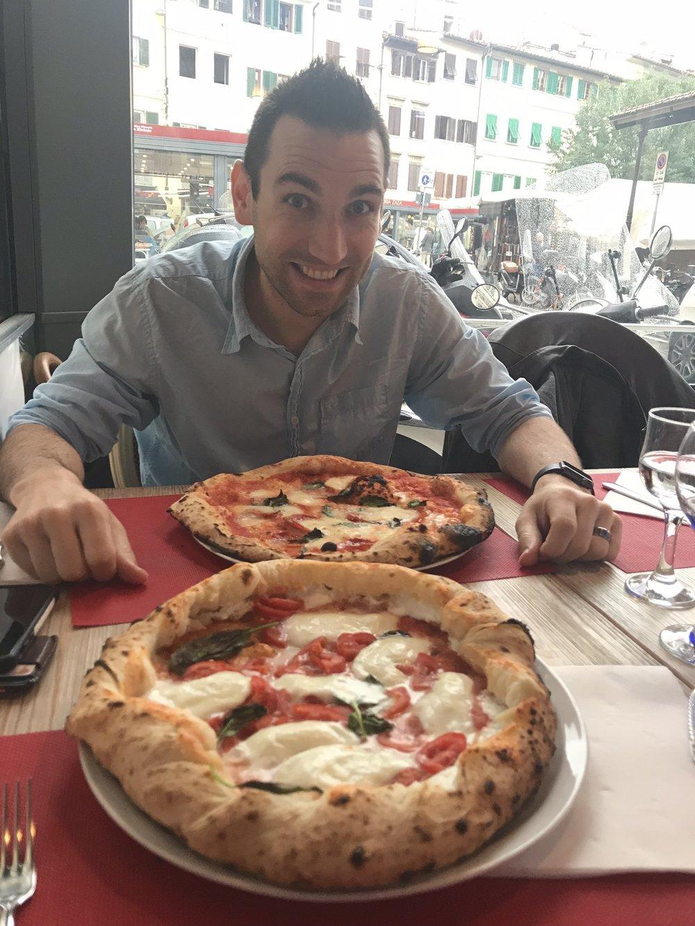 Pizza at Mamma Napoli