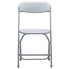 Standard Chair $1.25   • White • Strong plastic • Lightweight