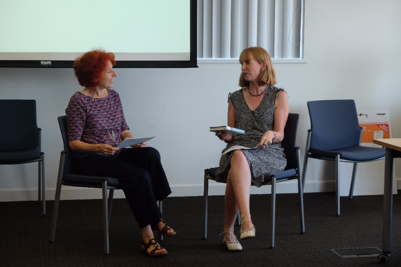 Dr Kate Murphy in conversation with Emily Buchanan