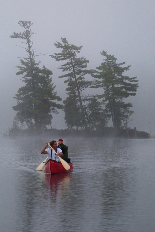 Morning Paddle on Contau