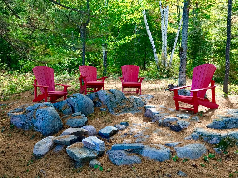 Gathering at the Campfire