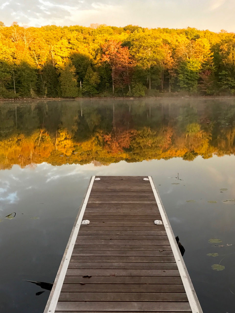 Autumn Reflections at The Bear Stand