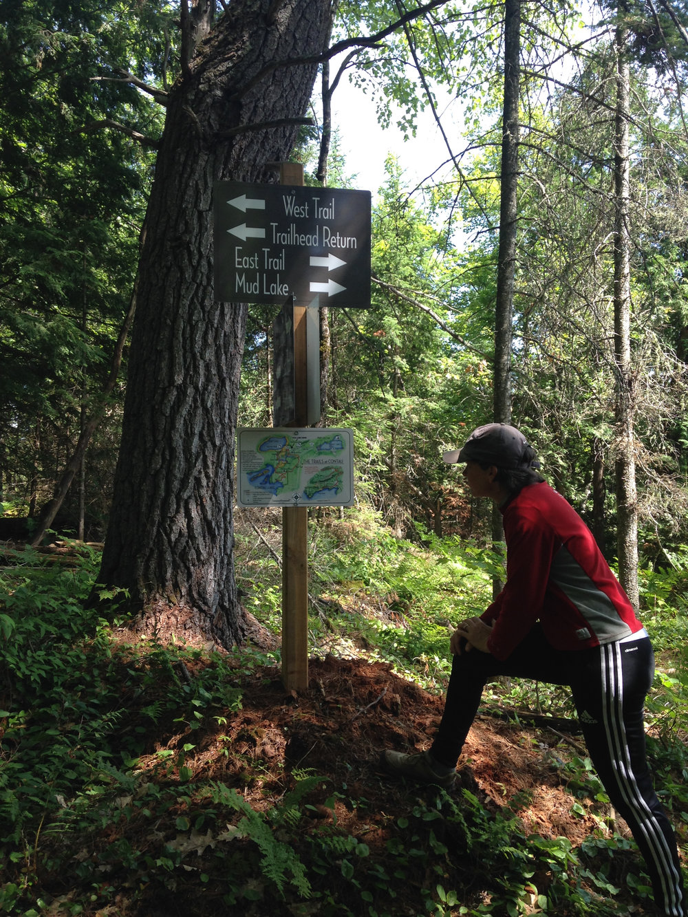 Navigating the Trails at Contau