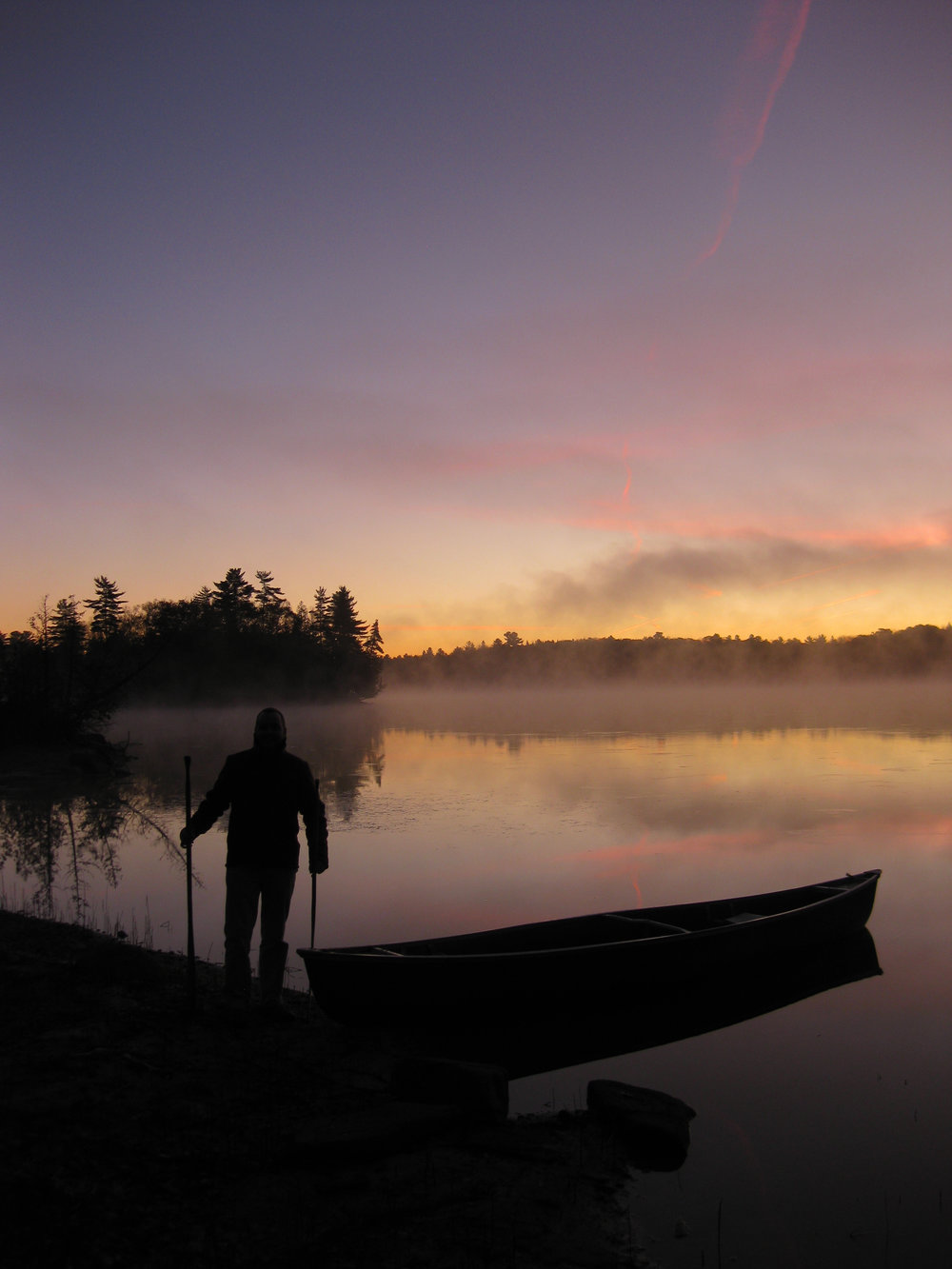 Sunrise Paddle on Contau Lake