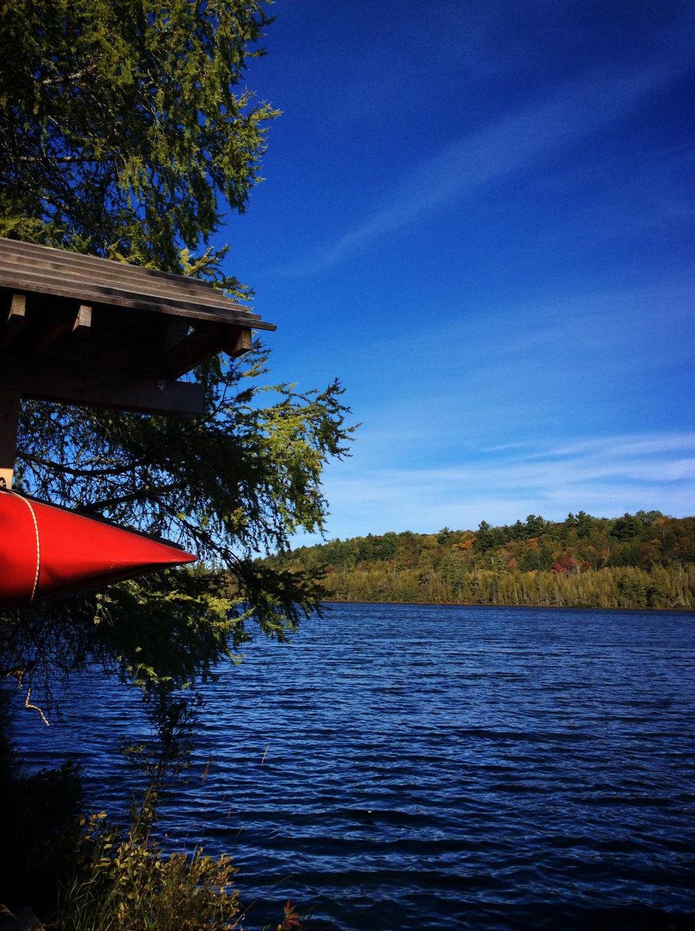 The Canoe at Mud Lake