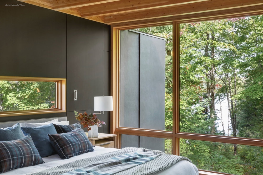 Master Suite Lake Views at The Bear Stand