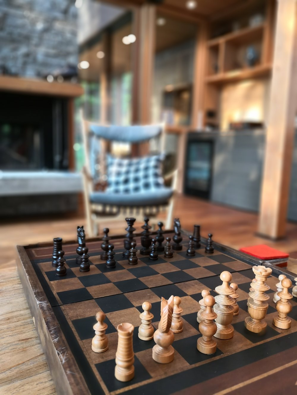 Chess in the Great Room