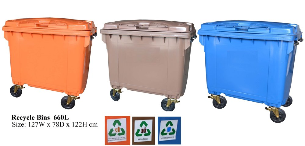 Copy of 660L Recycle Bins