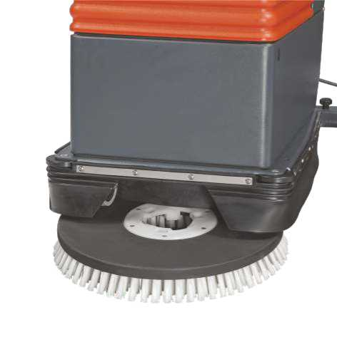 Mains Operated Walk Behind Automatic Floor Scrubber Dryer