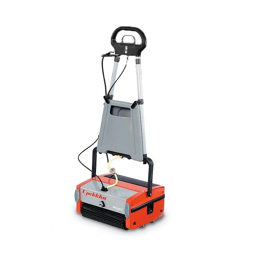 Upekkha™   RootsScrub Wizzard   Upekkha Wizzard 3 in 1 is a floor cleaning machine that multitasks!  Don't let it's small size and stature fool you! This machine is able scrub, swab, wash, clean, and yet dry all in one go!  The Wizzard cleans up to 350 sq meters per hour! Suitable for home, office & clean room use!