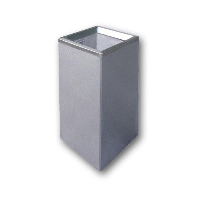 Stainless Steel Square Open Top Bin