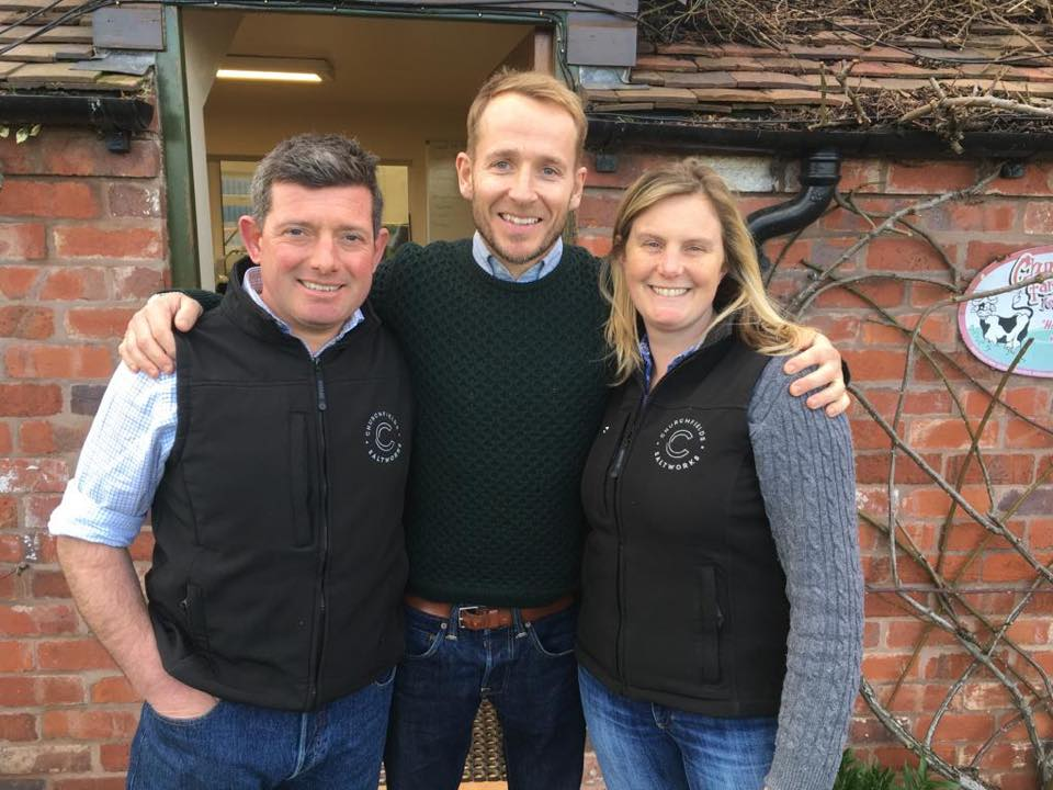 Will & Gillian with Jonnie Irwin
