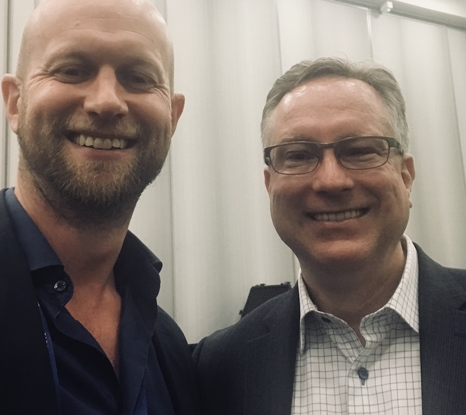 Peregrine  CEO Anders Nygren and MarTech Conf organizer Scott Brinker ( @chiefmartec )