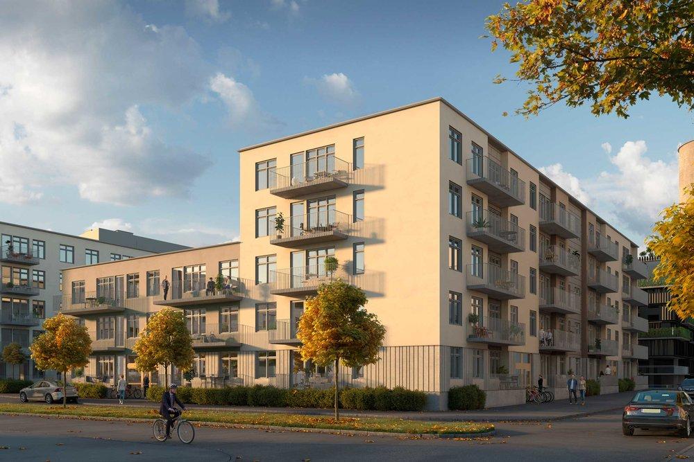 Cementen.  Öppna och kringbyggda kvarter i Malmö.