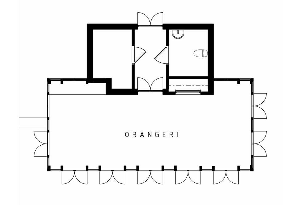 Orangeri, norra Stockholm