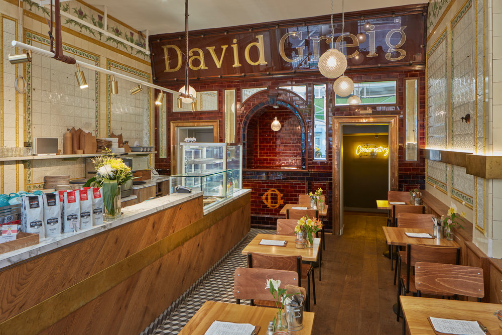 Original David Greig interior