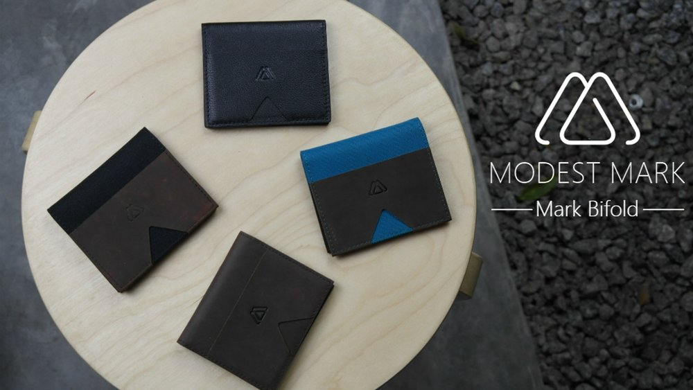 Mark Bifold: The Best Minimalist Bifold Slim Wallet Ever - $50,520 Raised | 992 Backers