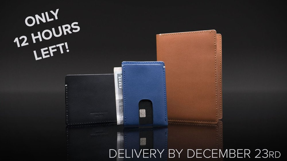 Anson Calder | Wallets for a minimalist lifestyle - $48,237 Raised | 518 Backers