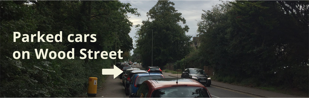 Parked Cars on Wood Street