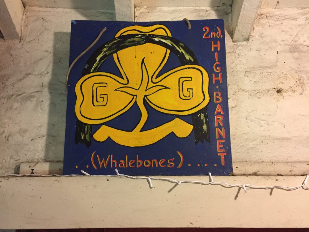 Girl Guides Badge in Whalebones Park