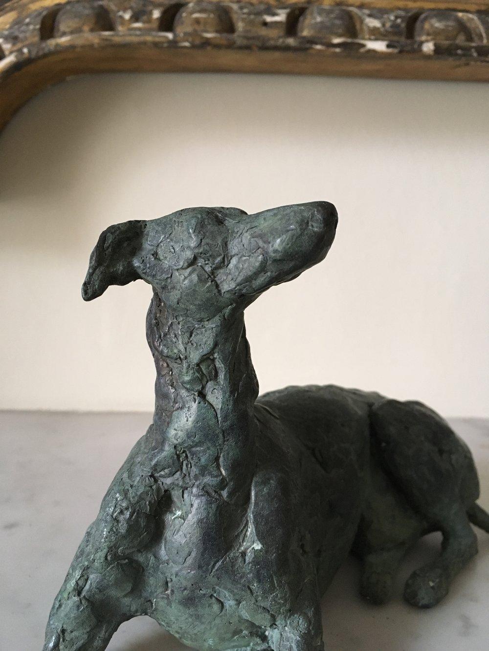 Bronze, Whippet. 7x6 inch (2).jpg