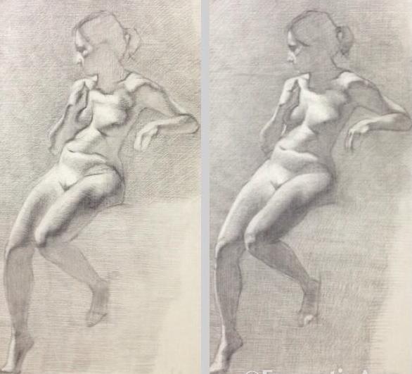 Progression of Reclining female.jpg