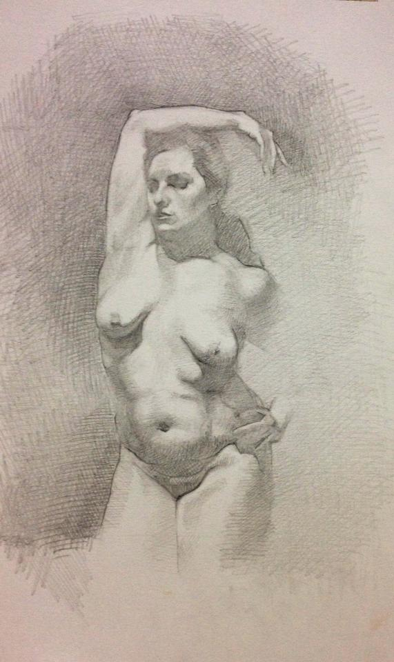 Pencil, Nude. 8x10 inch.jpg