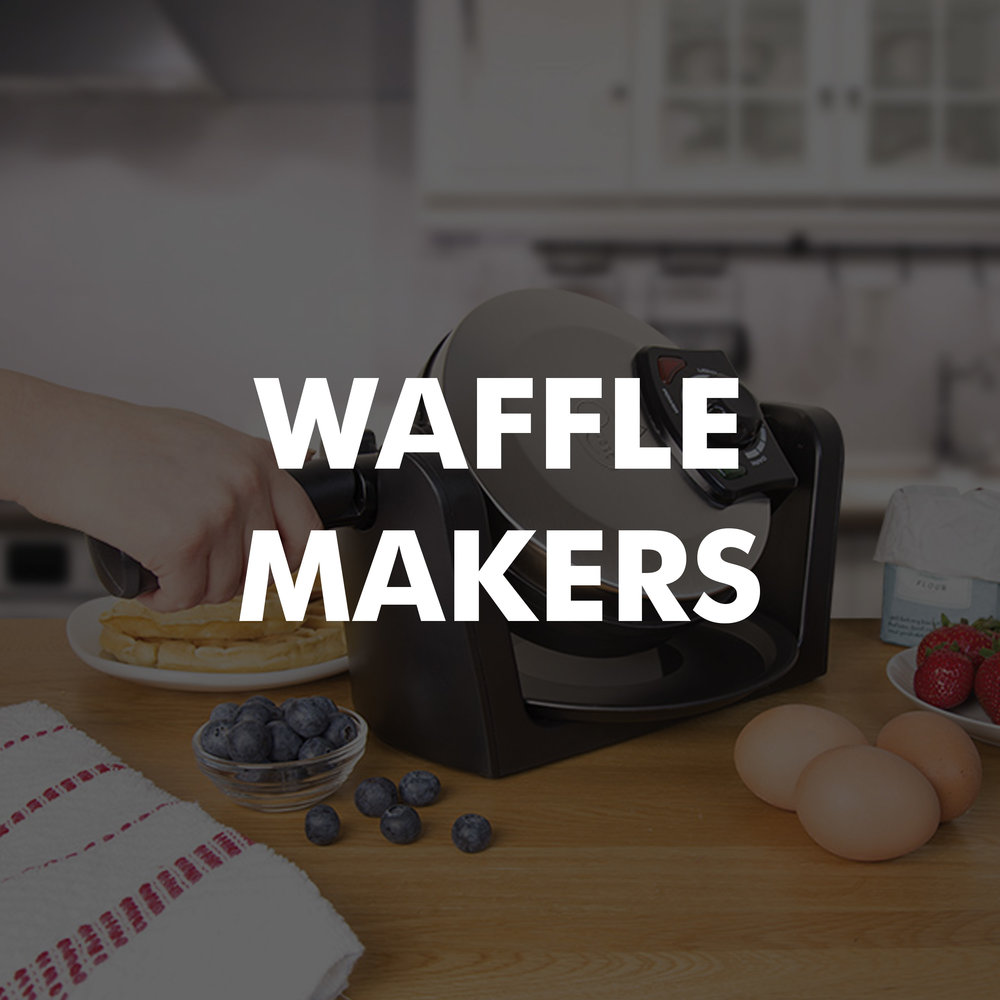 Waffle makers category
