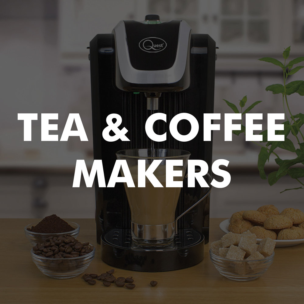 Tea and coffee makers category