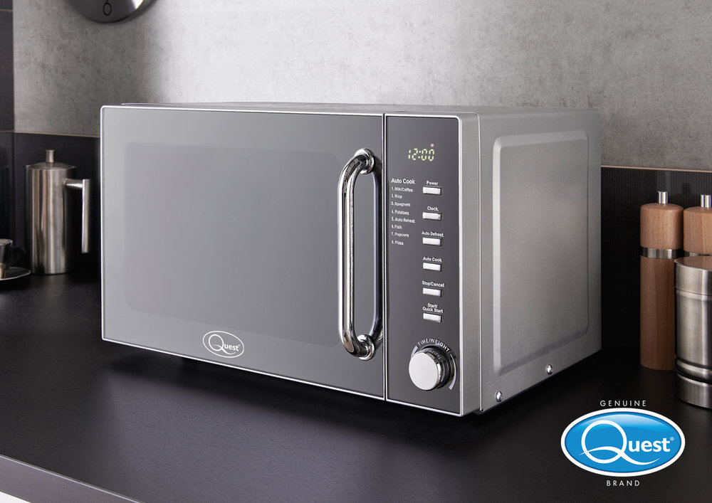 Quest brand new microwave