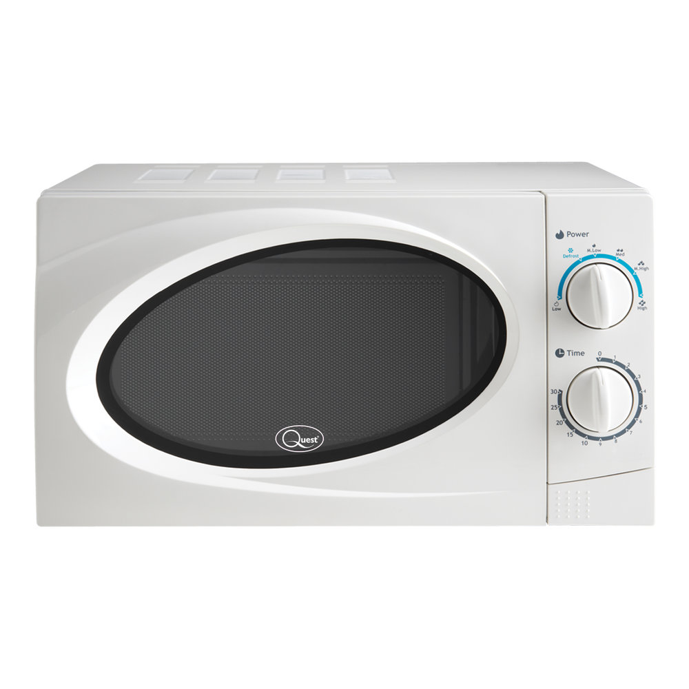 White 20L Classic Microwave