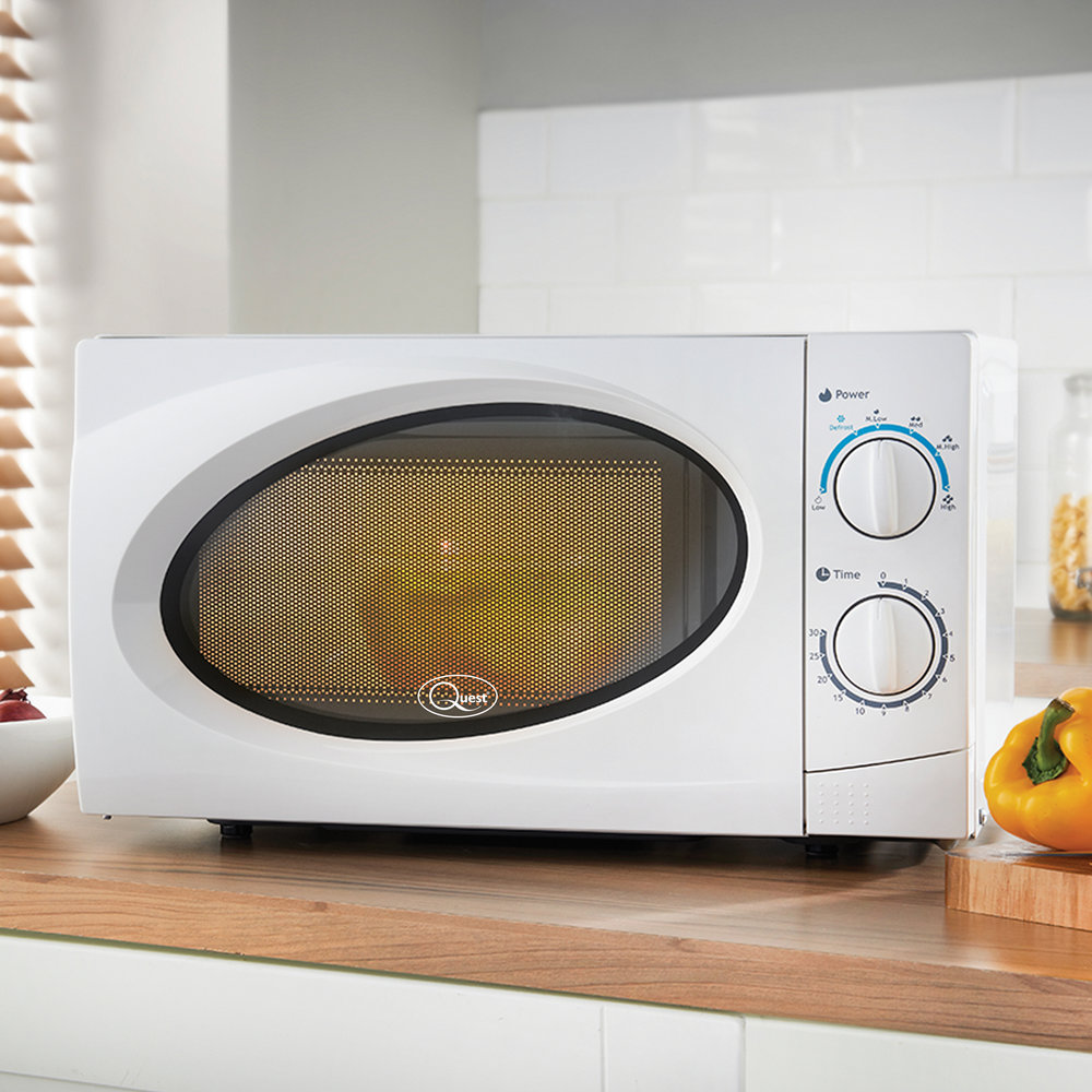 20L Classic Microwave (White/Black) - Cook, reheat & defrost! This classic 20 Litre microwave is available in both white or black to fit into most kitchen decors.