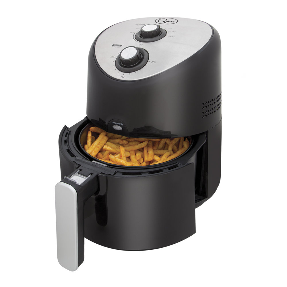2.5L Thermo Air Fryer open