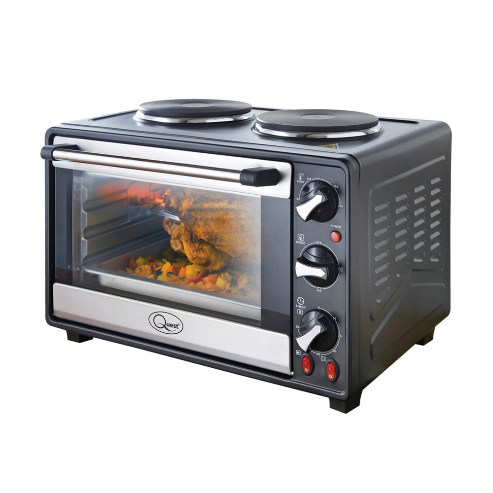 Twin Hob Convection Oven