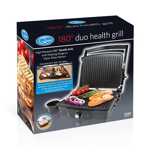 180° Duo Health Grill box