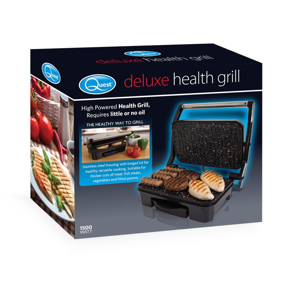 Deluxe Health Grill box