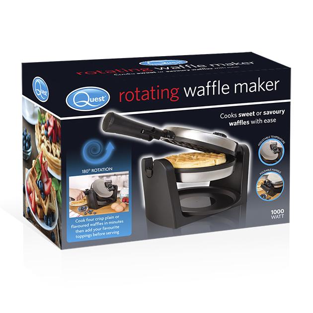 Rotating Waffle Maker box