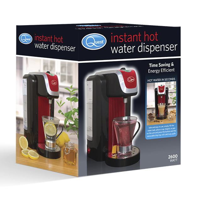 Instant hot water dispenser (red) boxed