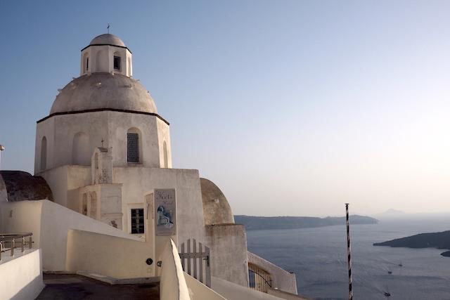 Thira Santorini Greece