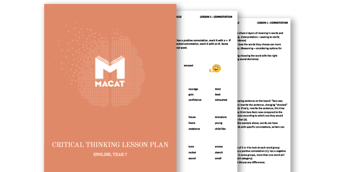 Macat Learning lesson plans