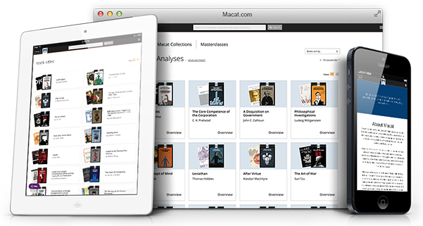 Macat iLibrary on multiple devices