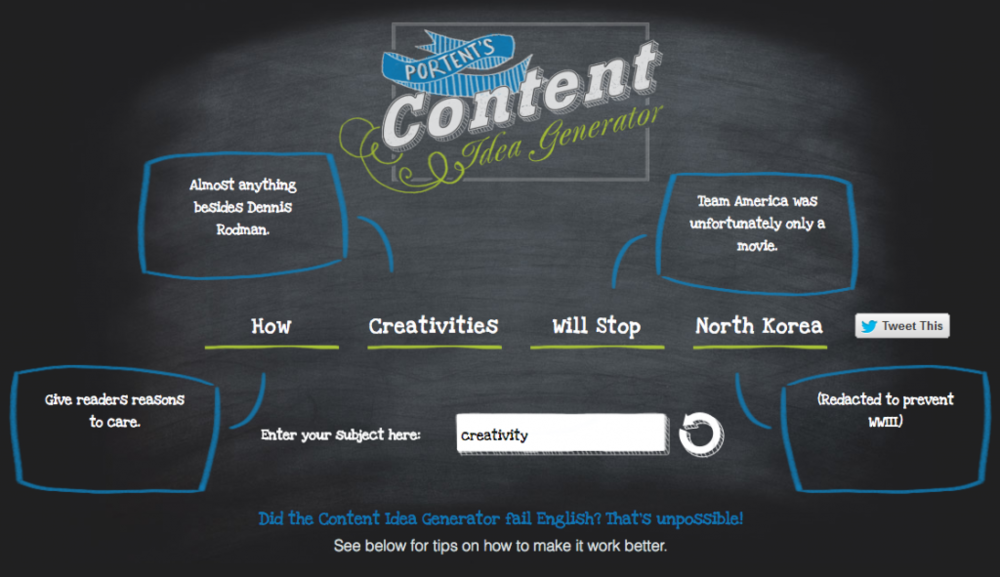 The Portent Idea Generator - Macat Critical Thinking Blog